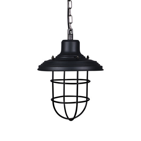 Vintage Industrial Light with Cage