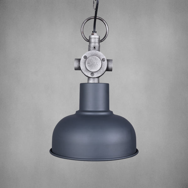 Vintage Industrial Light with Junction Box