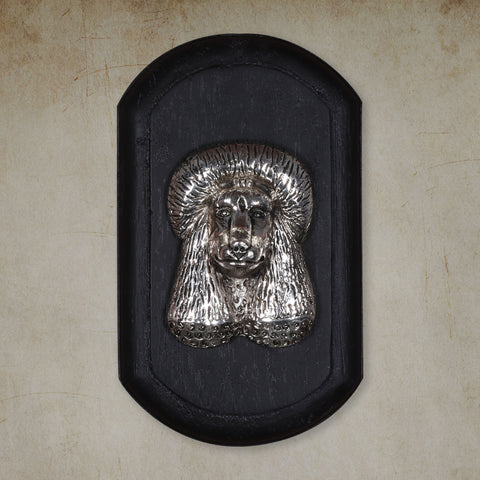 "Vintage Wall Decor ""Poodle"" Dog Face"