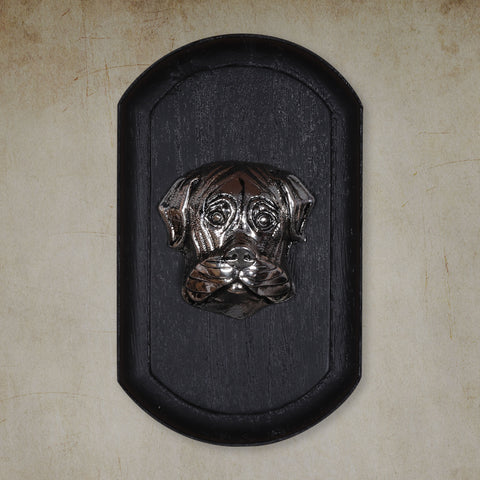 "Vintage Wall Decor ""Boxer"" Dog Face"