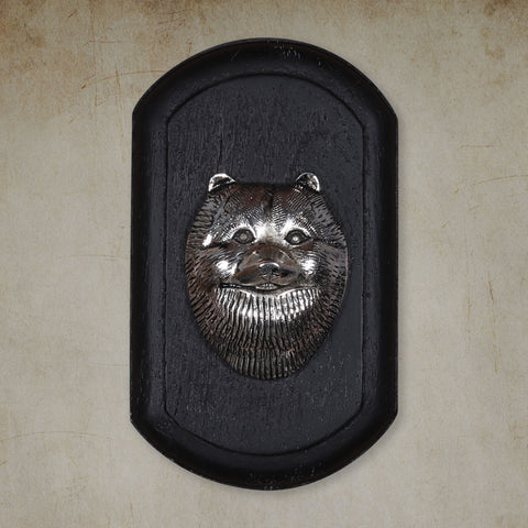 "Vintage Wall Decor ""Pomeranian"" Dog Face"