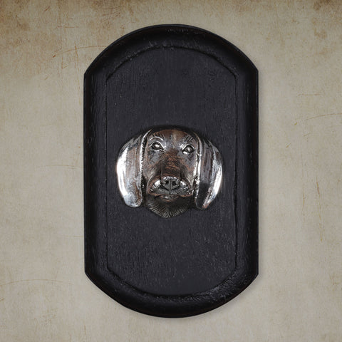 "Vintage Wall Decor ""Basset Hound"" Dog Face"