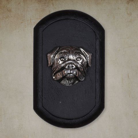"Vintage Wall Decor ""Bulldog"" Dog Face"