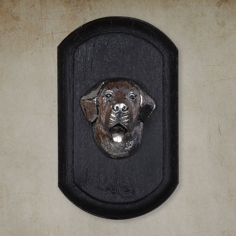"Vintage Wall Decor ""Saint Bernard"" Dog Face"
