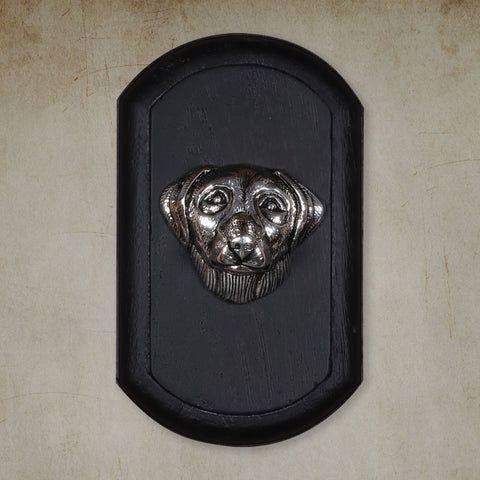 "Vintage Wall Decor ""Labrador Retriever"" Dog Face"