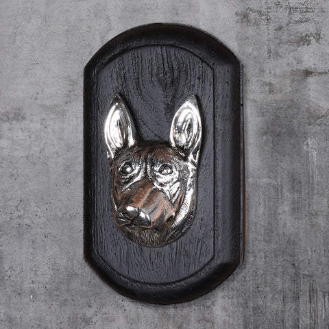 "Vintage Wall Decor ""German Shepherd"" Dog Face"