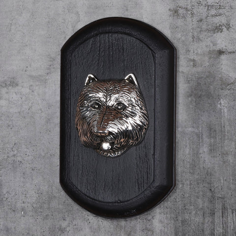 "Vintage Wall Decor ""Westie"" Dog Face"