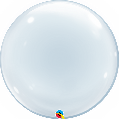 "24"" DECO BUBBLE - CLEAR-DECO BUBBLE-Partica Party"