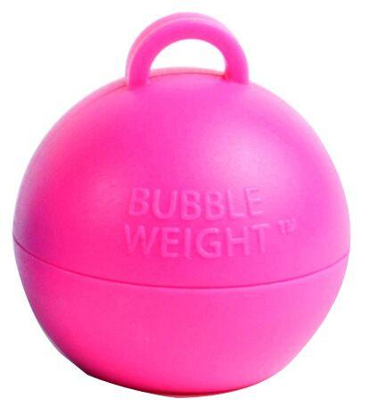 BUBBLE BALLOON WEIGHT - PINK-BALLOON WEIGHT-Partica Party