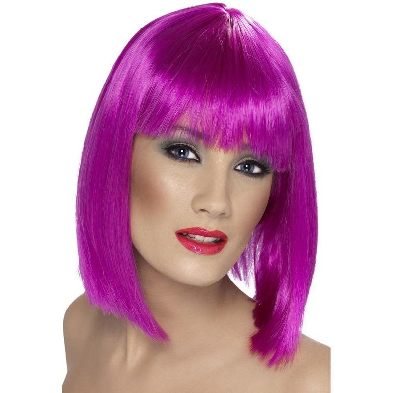 GLAM WIG - PURPLE-glamour wig-Partica Party
