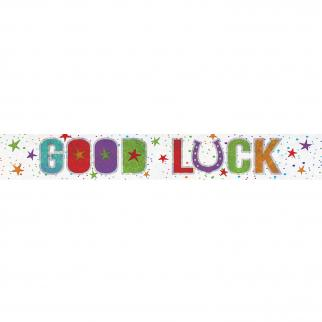 GOOD LUCK BANNER-BANNER-Partica Party