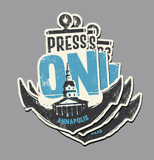 PRESS ON Annapolis • stickers (3 pack) PRE-ORDER