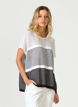 Oversized Ripple Top