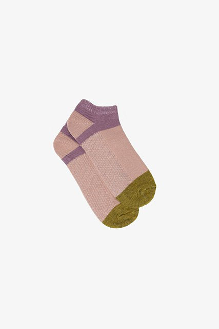Lilac & Blush Ankle Sock
