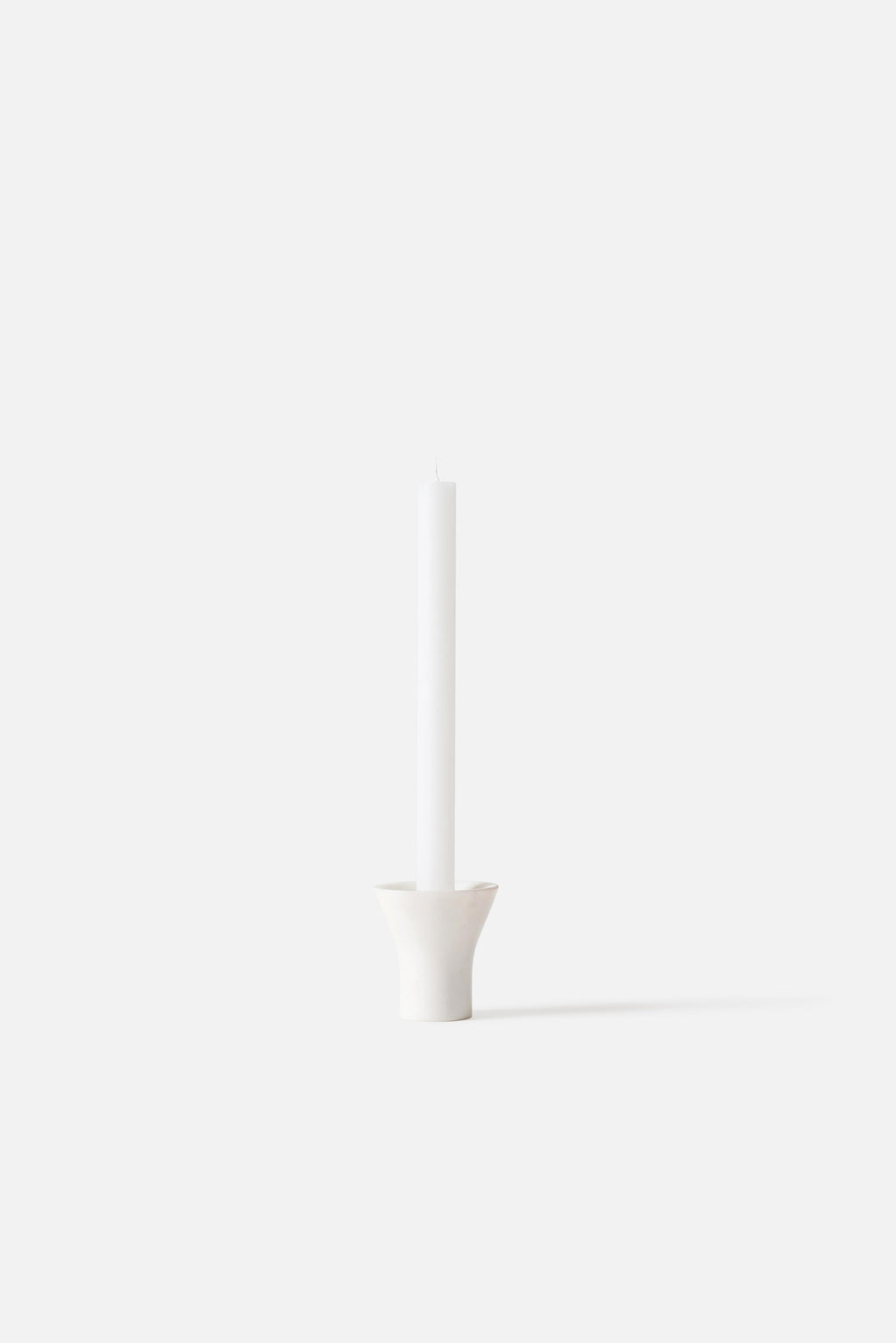 Flare Candle Holder - Natural
