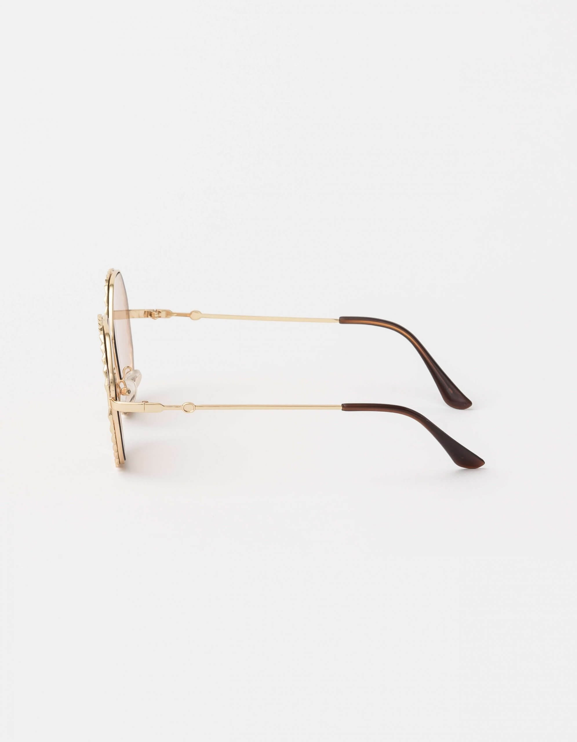 Chloe Gold Sunglasses