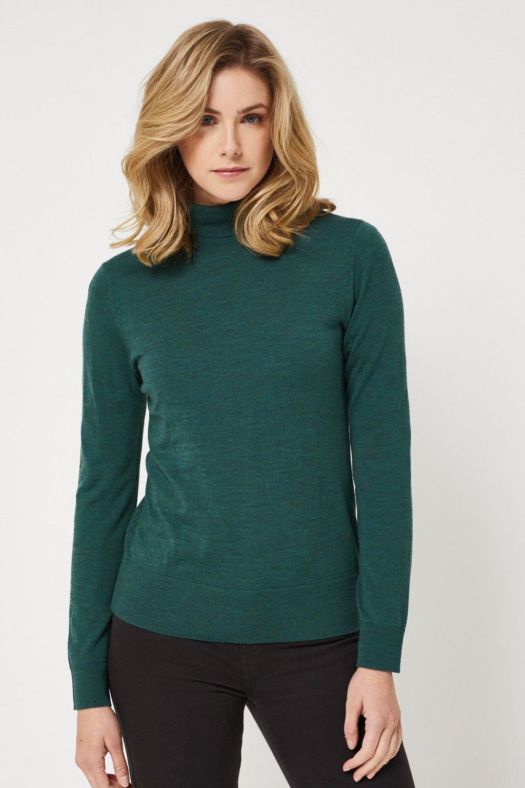 Roll Neck Merino