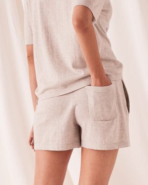 Cotton Cashmere Lounge Short
