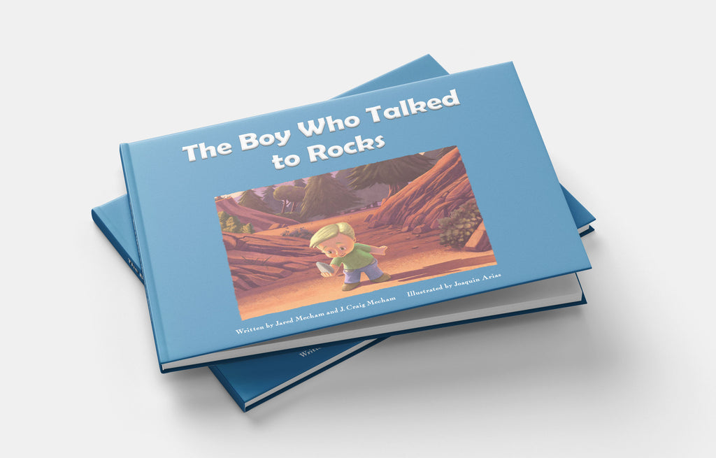 The Boy Who Talked To Rocks - Physical Book