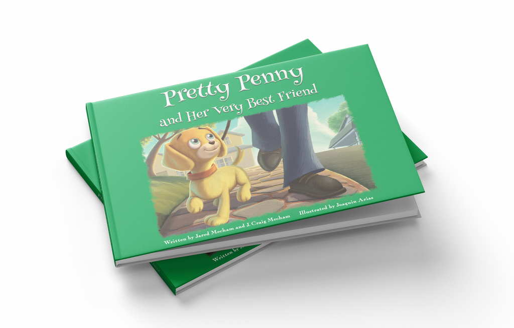 Pretty Penny And Her Very Best Friend - Physical Book
