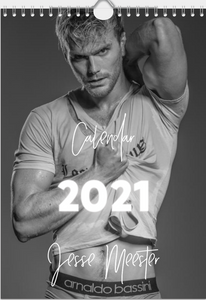 [EARLY-BIRD SPECIAL] SIGNED CALENDAR 2021 JESSE MEESTER