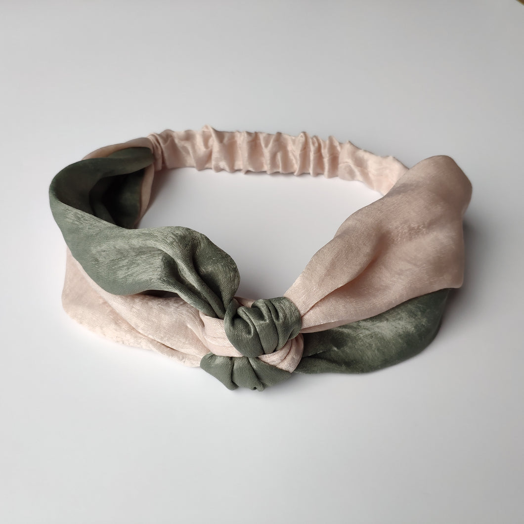 Knot Design Satin Headbands