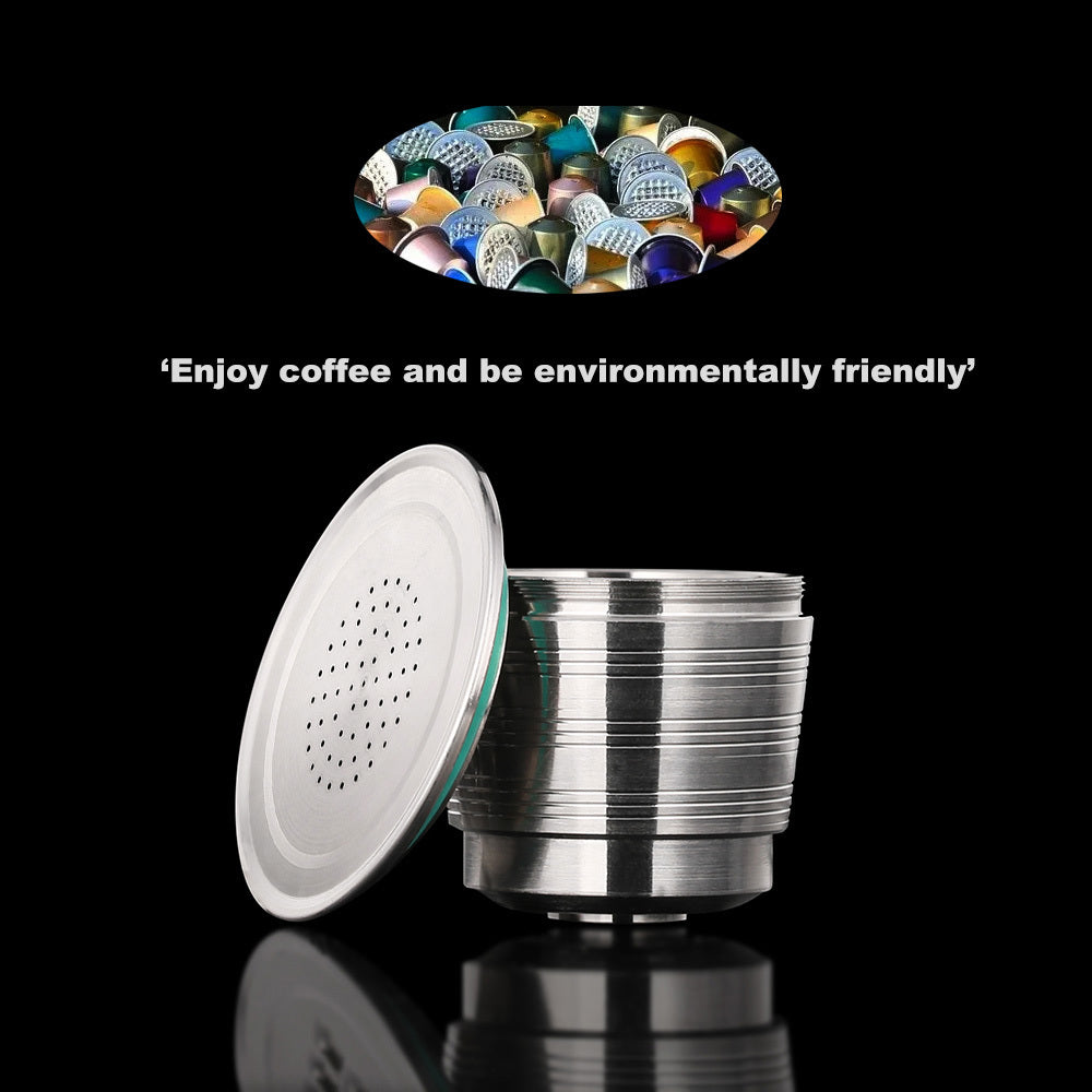 Refillable Coffee Capsule: New