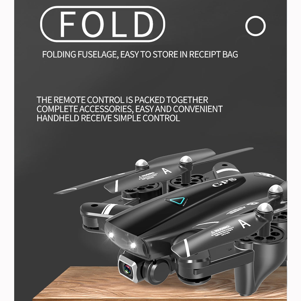 5G 1080P WIFI Foldable GPS Positioning RC Quadcopter Drone