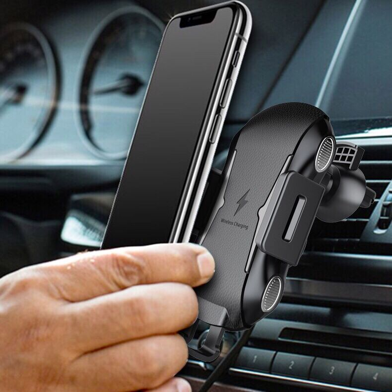 Universal 3 in 1 Car Qi Intelligent Wireless Charger
