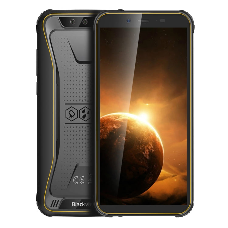 [HK Warehouse] Blackview A70, 3GB+32GB, Face ID & Fingerprint Identification, 5380mAh Battery, 6.517 inch Android 11 SC9863A Octa Core up to 1.6GHz, Network: 4G, Dual SIM(Black)