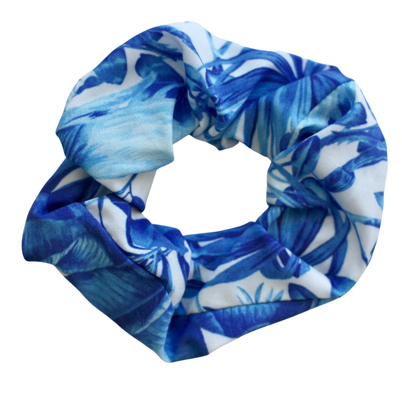 teen_girls_hair_scrunchie_indigo_jungle_print_australia