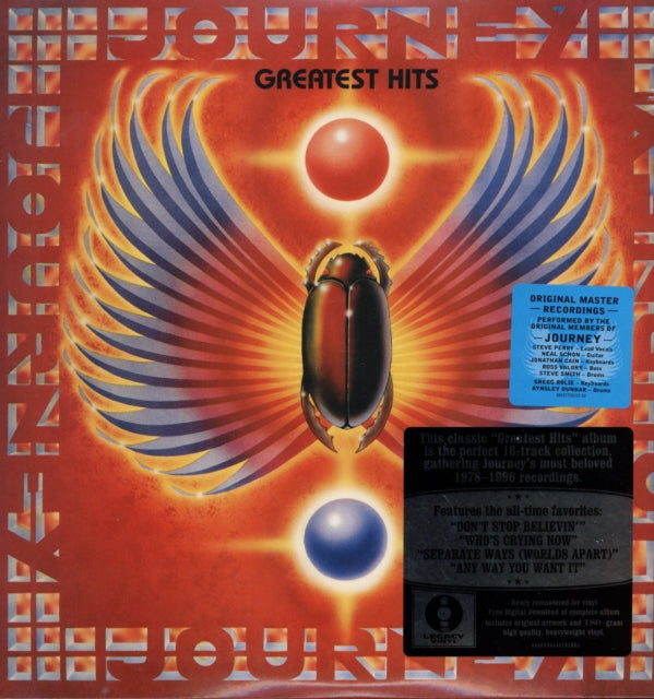 Journey Greatest Hits (180 Gram) - Morrow Audio Records