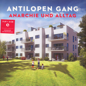 Antilopen Gang - Anarchie Und Alltag - Morrow Audio Records