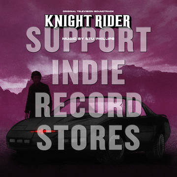 Stu Phillips - Knight Rider Original TV Soundtrack - Morrow Audio Records