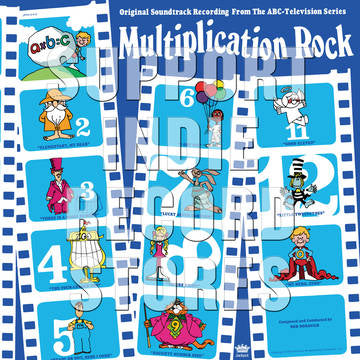 Bob Dorough - Multiplication Rock - Morrow Audio Records