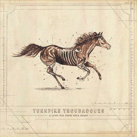 Turnpike Troubadours - A Long Way From Your Heart - Morrow Audio Records