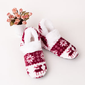Xmas Fluffy Slippers