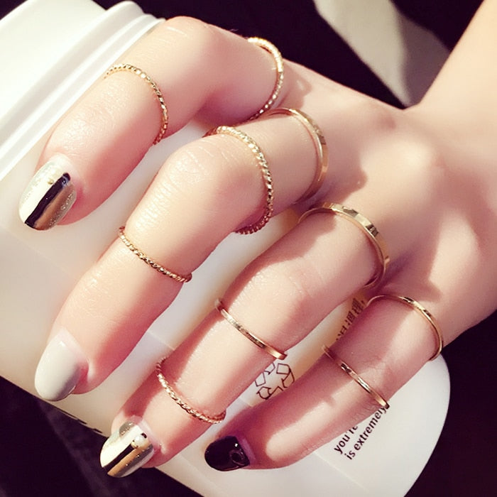 Glam Ring Set