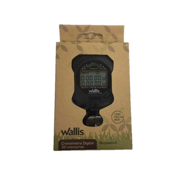 Reloj Cronometro Profesional Digital Wallis CD270311