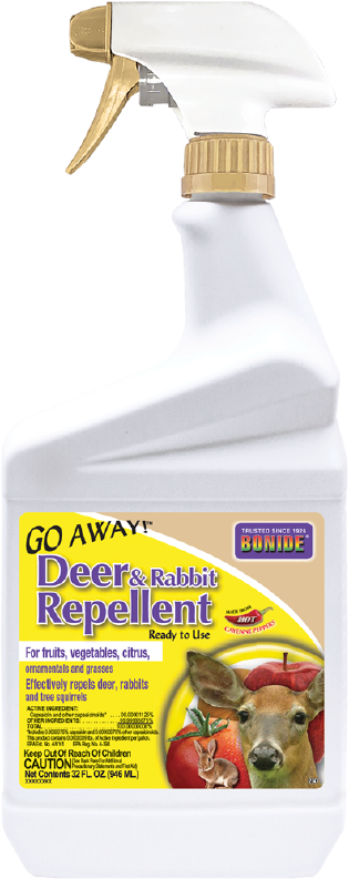 Bonide Go Away! Deer & Rabbit Repellent