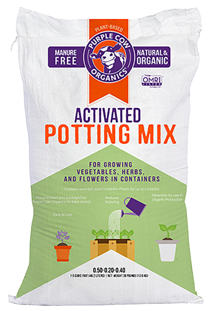 Purple Cow Potting Soil