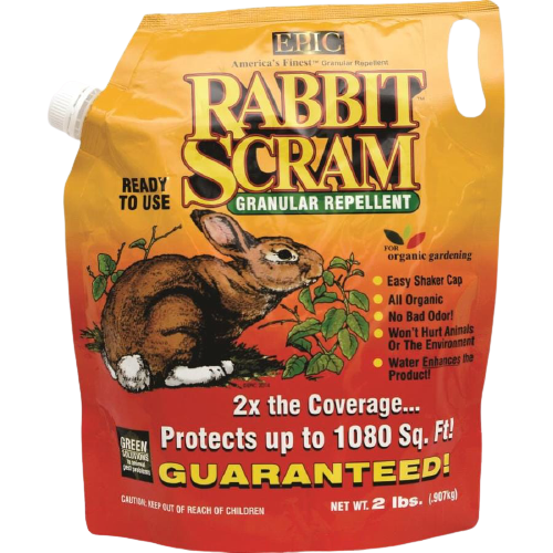 Epic's Rabbit Scram Granular Repellent