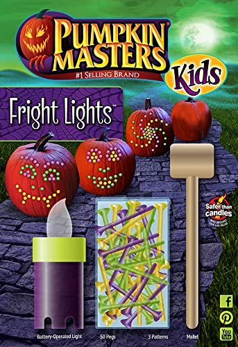 Pumpkin Masters Kids Fright Lights Kit