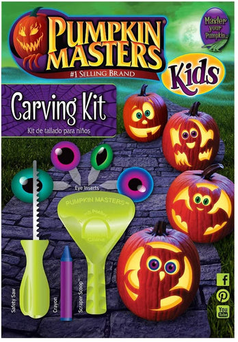 Pumpkin Masters Kids Pumpkin Carving Kit