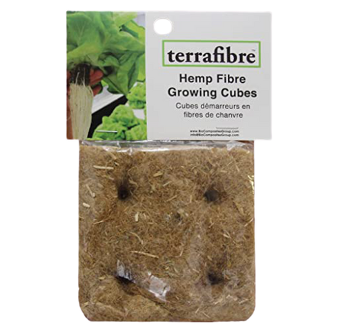 Terrafibre Hemp Fibre Growing Cubes