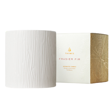 Thymes Frasier Fir Ceramic Candle