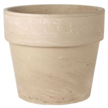 Load image into Gallery viewer, Ceramo White Marble Granite Calima Pot