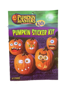 Pumpkin Masters Kids Pumpkin Sticker Kit