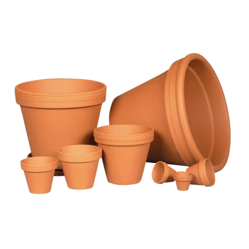 Ceramo Terra Cotta Clay Flower Pot