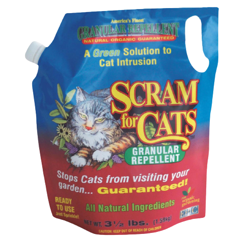 Scram for Cats Granular Repellent